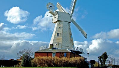 Willesborough Windmill is just over 1 mile away